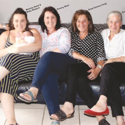 Hayes family celebrates fifth generation