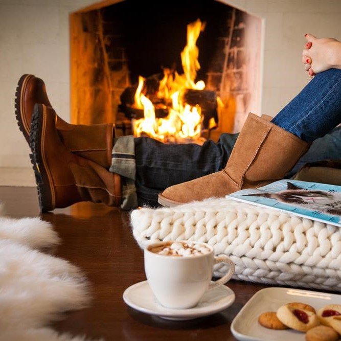 Install a fireplace in your home