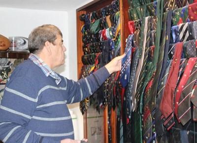Delport's memorabilia ties