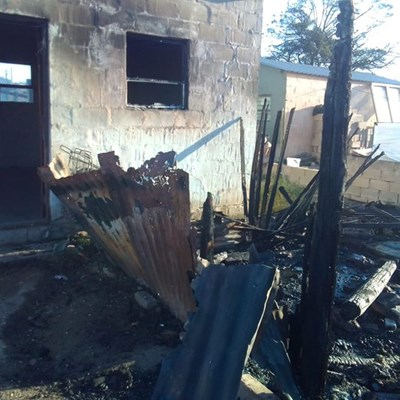 Three families lose everything in fire
