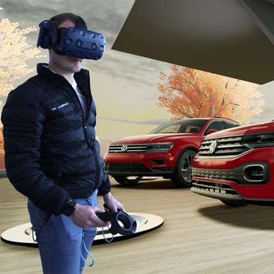 Take the T-Cross for a virtual spin