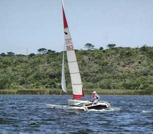Good turnout for Sunday's sailing