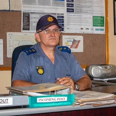 Meet Knysna's brand new top cop