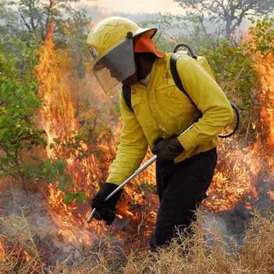 Controlled fire planned for today