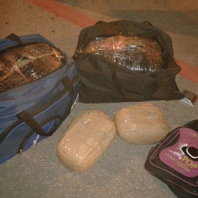 30kg of cannabis confiscated outside Plett
