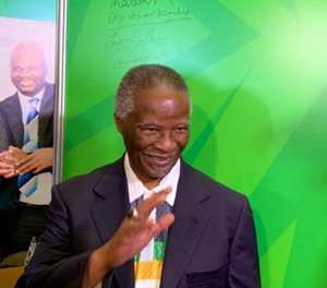 #IMadeMyMark - Thabo Mbeki throws his weight behind ANC