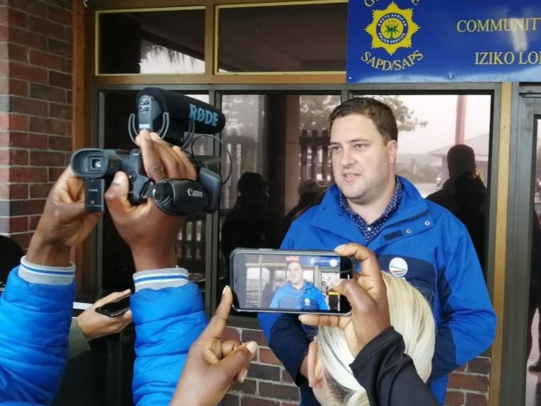 DA lays criminal charges against George mayor