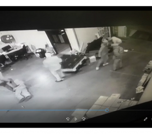 WATCH: Armed robbers strike at Middelburg Courier Guy