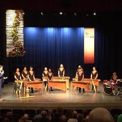Glenwood's marimba band wins at festival in Europe