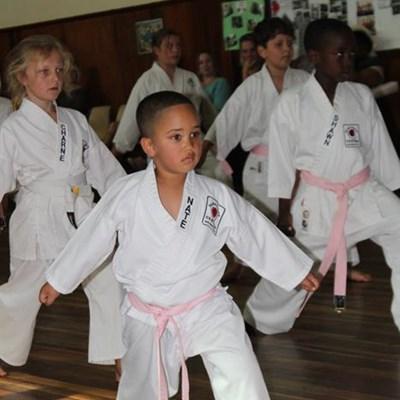 Karateka tickled pink