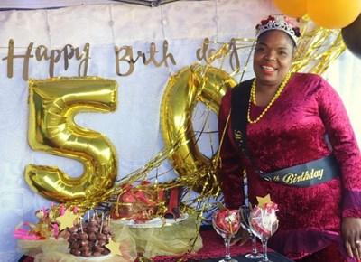 Johanna Nyadi's 50th birthday celebrated