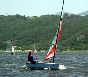 George hosts GP14 national sailing championships
