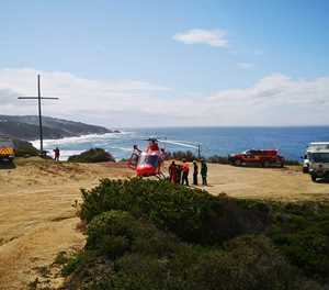 Car goes over cliff near Herold's Bay