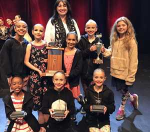 Young dancers garner 65 competition medals
