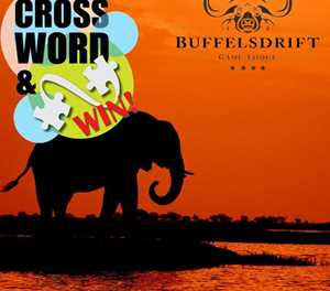 MONTHLY CROSSWORD: WIN AN ELEPHANT FEEDING EXPERIENCE FOR 2 PEOPLE AT BUFFELSDRIFT GAME LODGE