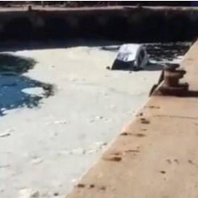 Car rolls into sea in Hermanus harbour