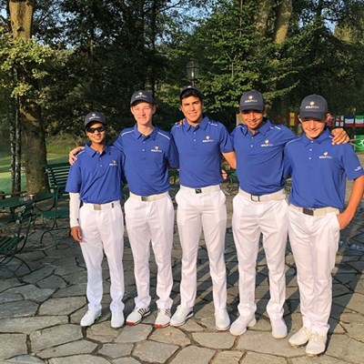 GolfRSA juniors hang tough in Italy