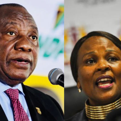 Ramaphosa gets banking records submitted by Mkhwebane sealed