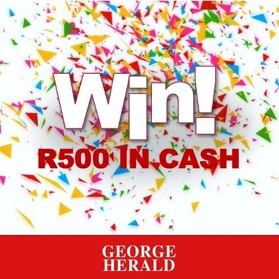 WIN R500 in cash with George Herald