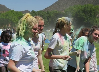 Colour splash at Union High