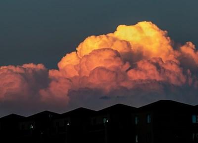 Pragtige wolkformasies