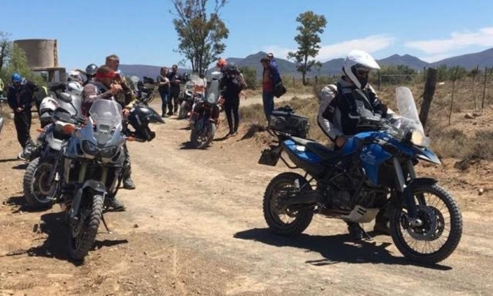 Eerste avontuur motorfietsrit