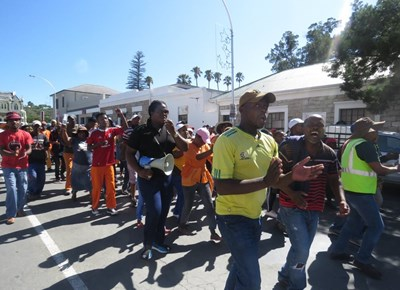 Peaceful march by Umasizakhe residents