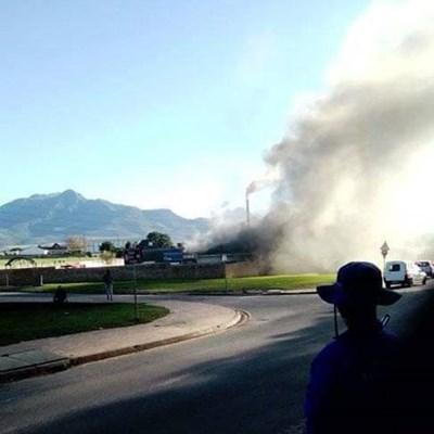 PDSA crematorium up in flames