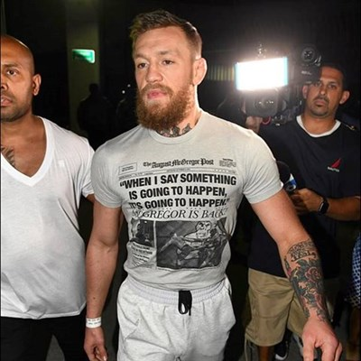 Conor McGregor arrested in Florida