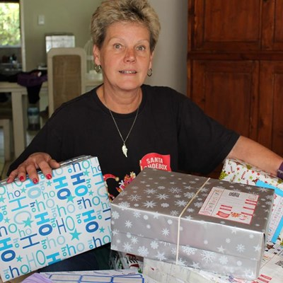 Support the Santa Shoebox drive