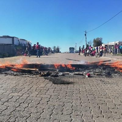 Opvolg: Protesaksie in New Dawn Park