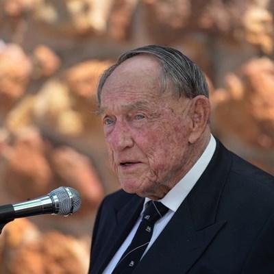 Geskiedundige oomblik vir 92-jarige by Bybelmonument
