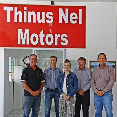 Will the real Thinus Nel please stand up
