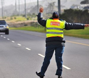 'They took a R300 bribe from my driver'
