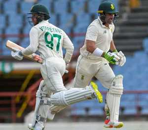 Verreynne on captain Elgar, Windies bowlers after tough day