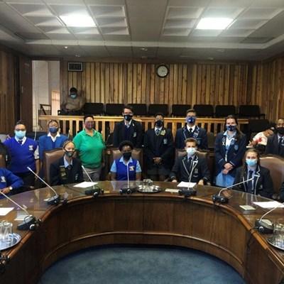 Junior councillors host first meeting