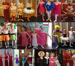 Young dancers the pride of their town