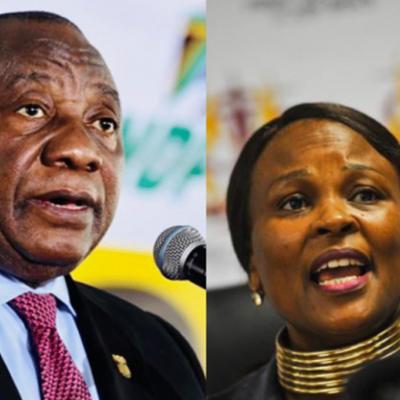 Ramaphosa interdicts remedial action on Mkhwebane's Bosasa report