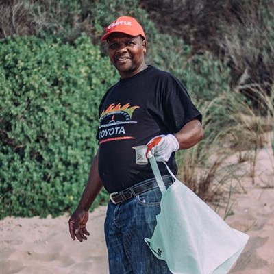 Plettenberg Bay  beach brighter after cleanup