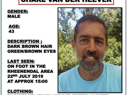 Charl van der Heever found