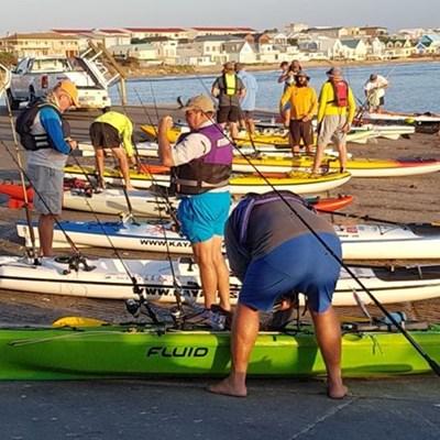 Eerste kayakkompetisie suksesvol
