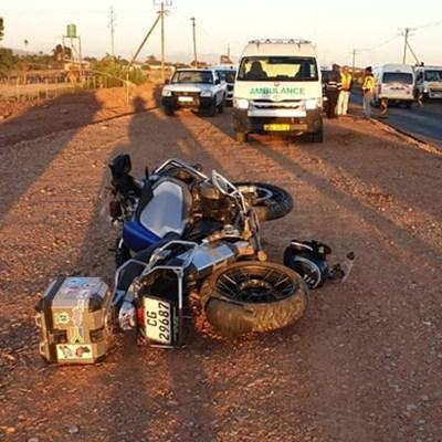 Motorfietsryer sterf