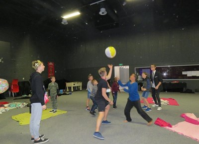 Laughter, colour and fun at holiday club