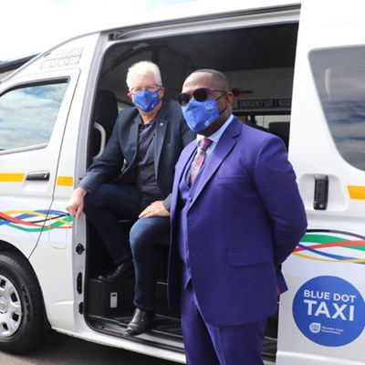 WC Government: Blue Dot taxi service launch