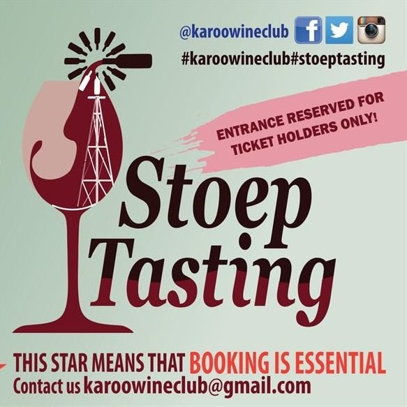 Welcome to the 6th annual Stoep Tasting Wine weekend - 2019