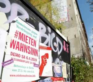 Germans up in arms over 'rent insanity'