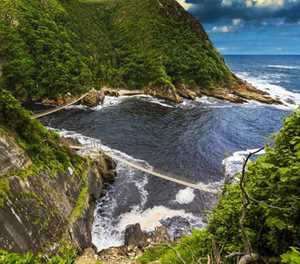 Storms River Mouth Rest Camp: The final stop on the Garden Route