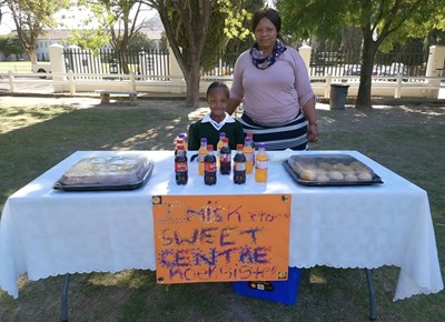 Union Preparatory School's Grade 3's market day