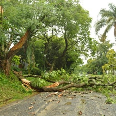 Family evacuated, another house collapses as Eloise continues to batter KZN