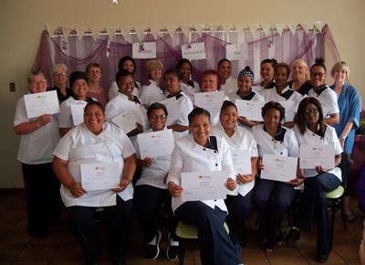 Carers of Alzheimer's patients receive certificates